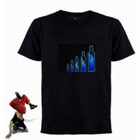 Led - Sound Activated Light T-Shirts