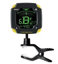 Free-Rotating Clip Tuner with Backlight for Guitar, Bass, Violin and Ukulele
