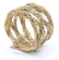Beaded Multi Line Bracelet