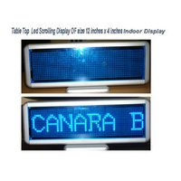 Indoor Table Top Scrolling Led Display