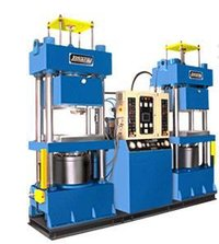Fully Automatic Twin Vacuum Type Rubber Moulding Machine