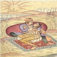 Mughal Kings Love Scenes Painting