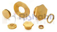 Brass Stop Plug, Ring And Roller