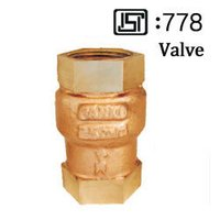 G.M. Vertical Check Valve