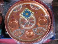 Decorated Puja Thali
