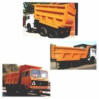 Box Type Tipper Dumper Body