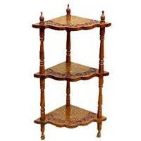 Decorative Wooden Corner Rack