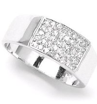Platinum Mens Ring