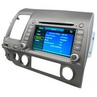 7 Inch TFT LCD Touch Screen Car DVD Player with GPS + TV + FM + Bluetooth for HONDA CIVIC