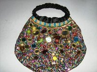 Colour Beaded Handbag