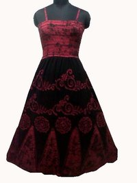 Batik Long Dress