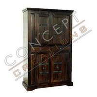 Acacia Wooden T.V. Cabinet