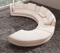 Modern Living Room Leather Sofa Set