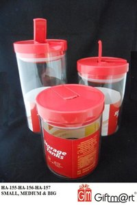3 Pcs Air Tight Containers
