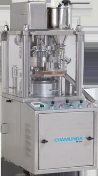 Table Top Tablet Compression Machine With Pre Compression And Force Feeder