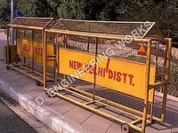 Wheeled Road Barrier