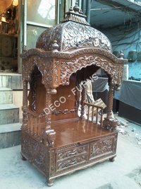 Wooden Carving Mandir