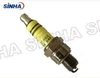 Nickel Plated Colorful C7HSA Motorcycle Spark Plug