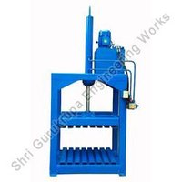 Tarpaulin Hydraulic Bale Press Machine