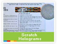 Scratch Holograms