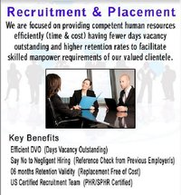 Recruitment And Placement Services