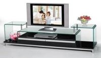 Glass Lcd Table Stands