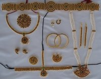 Bharatanatyam Dance Ornaments Sets