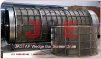 Rotary Wedge Wire Screen Drum