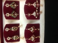 Gold Plated Stone Topes