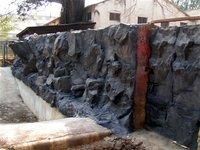 Fiberglass Rock Wall