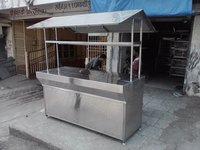 Stainless Steel Pav Bhaji Counter