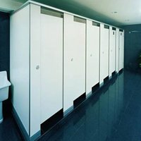 Public Toilet Partitions In Compact Laminates