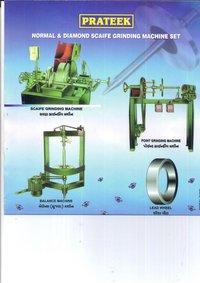 Normal Diamond Scaife Grinding Machine