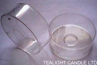Clear Polycarbonate Tea Light Cups for Tea Lights