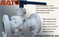 Api 6d Reduced Bore Trunnion Mounted Ball Valves