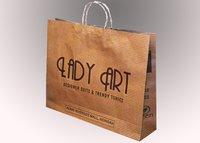 Fashionable Kraft Paper Bag