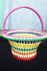 Palm Leaf Flower Baskets