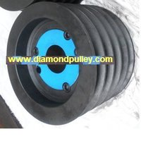 Cast Iron Dual Duty Pulley With Taper Lock Bush
