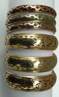 Handmade Brass Bangles