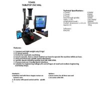 Tabletop Cnc Trainer Milling Machine