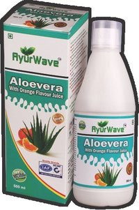 Aloe Vera Juice With Orange Flavour (500ml)