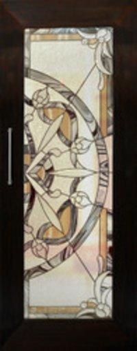 Beveled Glass Panel