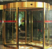 Automatic Revolving Doors (3/4 Wing)