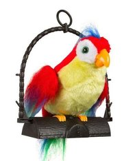 Talking Parrot Soft Toy