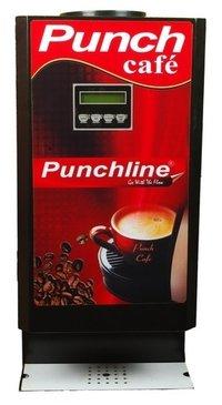 Punchline 2 Lane Tea Coffee Making Machine