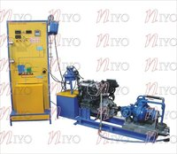 Four Cylinder Four Stroke Petrol Engine Test Rig