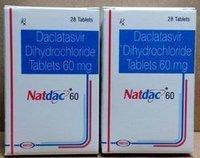 Natdac 60 (Daclatasvir Dihydrochloride Tablets 60mg)