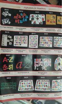 Alphabet And Numbers Education Toys
