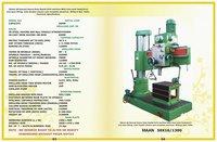 50mm Heavy Duty Radial Drill Machine