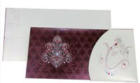 Metallic Designer Wedding Cards